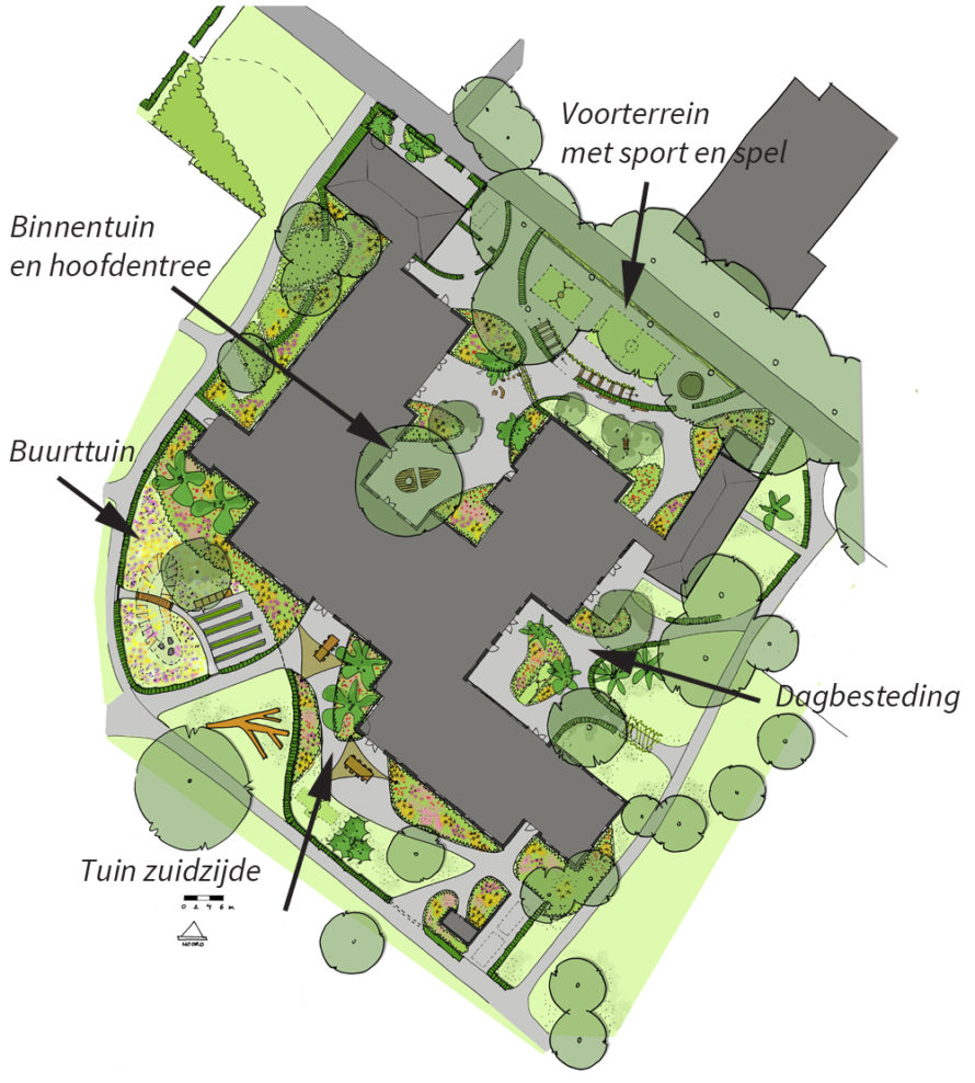 ontwerp, belevingstuin, stichting slowcare